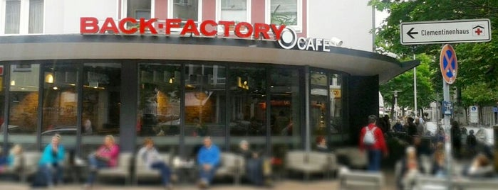 Back-Factory is one of Kübraさんのお気に入りスポット.