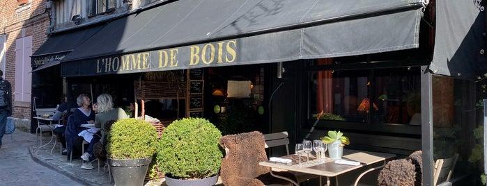 L'Homme de Bois is one of Honfleur.