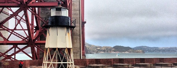 Fort Point National Historic Site is one of San Fran.
