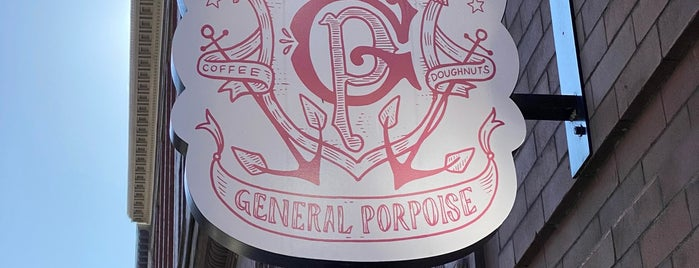 General Porpoise Coffee & Doughnuts is one of Treats.