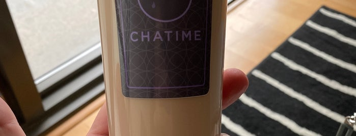 Chatime is one of Places eaten (Toronto).