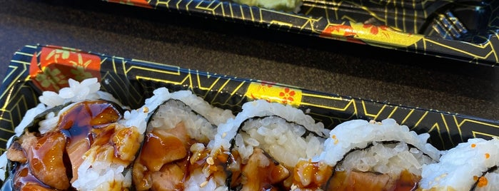 Yi Sushi is one of Lieux qui ont plu à Chika.