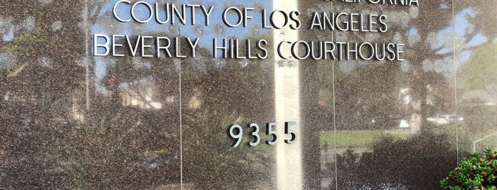 Beverly Hills Courthouse is one of LA.