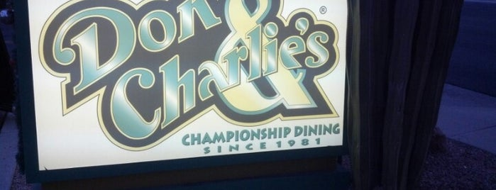 Don & Charlie's is one of Phoenix / Scottsdale Restaurants.