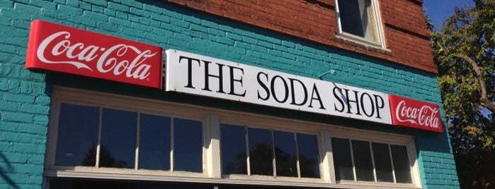 The Soda Shop is one of Davidson.
