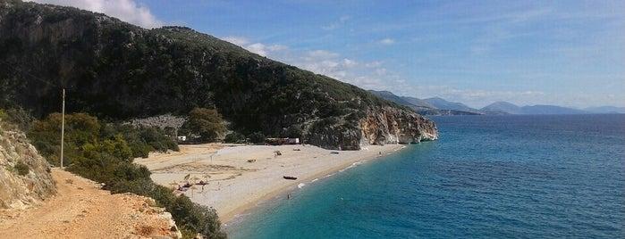 Gjipe beach is one of Balkans.