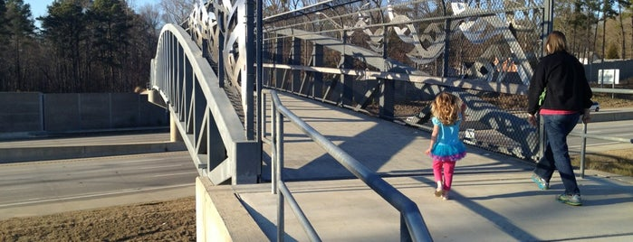 Hinshaw Greenway Pedestrian Bridge is one of Must-Visit Hiking/Running Trails.