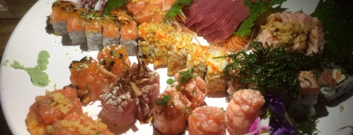Nipô Sushi is one of Beさんのお気に入りスポット.