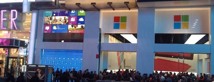 Microsoft Pop-Up Store is one of Ny.