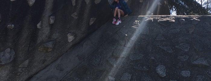 UW Climbing Wall is one of Locais curtidos por Drew.