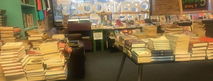 Open Books is one of Nikkia J'ın Kaydettiği Mekanlar.