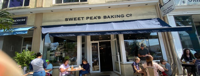 Sweet Pea's Baking Company is one of Coffee, Tea, and Smoothies.