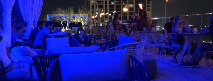 Azul Rooftop Pool Bar + Lounge is one of Our Favorites - Austin.