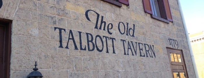 Old Talbott Tavern is one of Revolutionary War Trip.