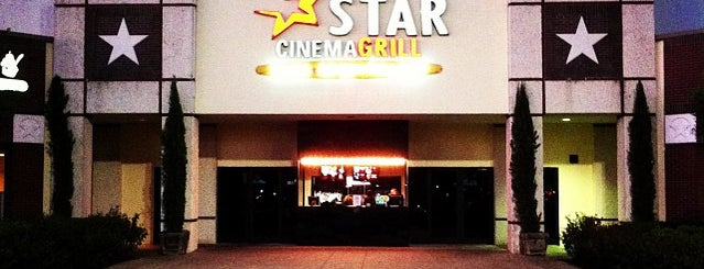 Star Cinema Grill Webster is one of Tempat yang Disukai Dominic.