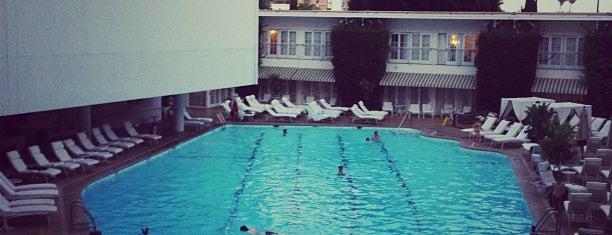 Poolside @ The Beverly Hilton is one of David & Dana's LA BAR & EATS!.