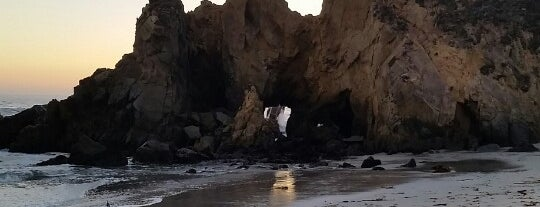 Pfeiffer Beach is one of Out of town.