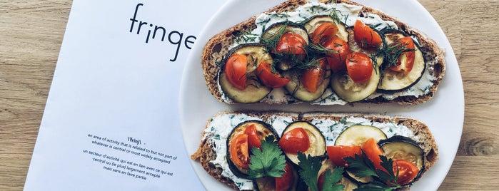 Fringe is one of Cafés EU.