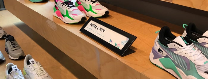 The PUMA Store Amsterdam is one of Wear!.