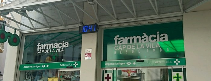 Farmacia Cap De La Vila is one of Locais curtidos por jordi.