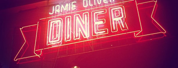 Jamie Oliver's Diner is one of London.