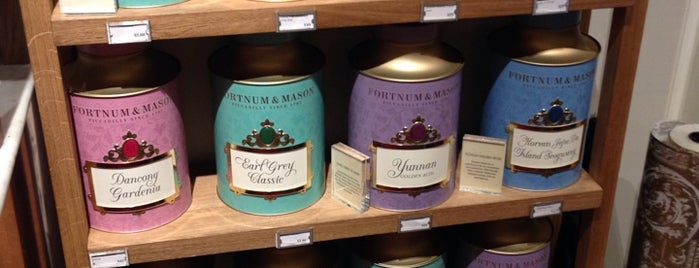 Fortnum & Mason is one of London.