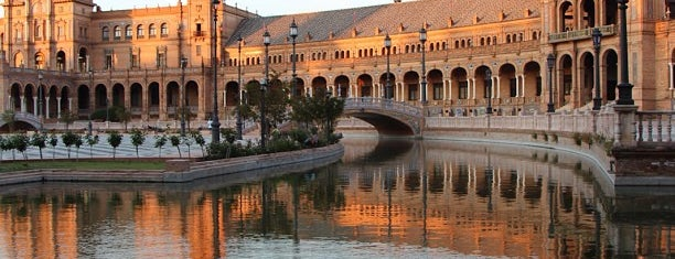 Plaza de España is one of Spain-Sevilla.