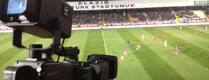 Elazığ Atatürk Stadyumu is one of Türkiye Süper Lig Stadyumu (Season 2013-2014).