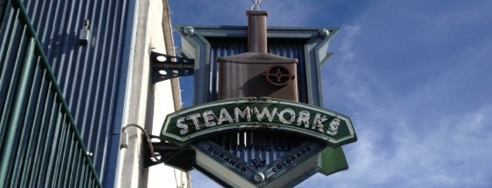 Steamworks Brewing Company is one of Durango.