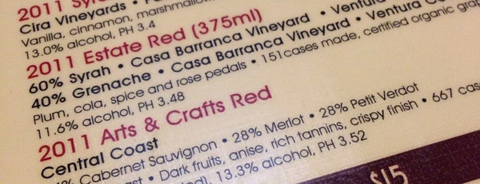 Casa Barranca Wine Tasting is one of To Do: Ojai.