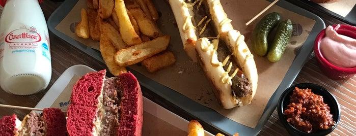 Red-Et Burger is one of Ankara Favori Mekanlarım.