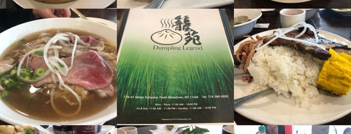 Dumpling Legend is one of Lugares favoritos de Marc.