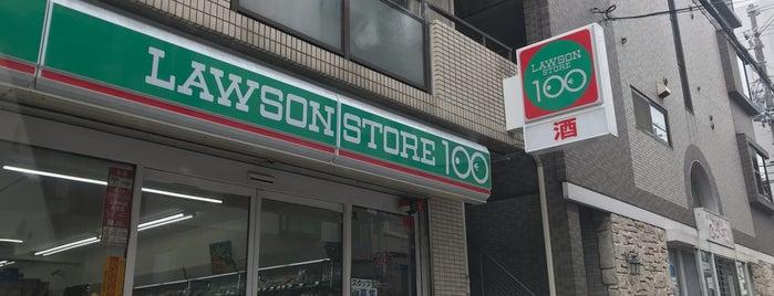 Lawson Store 100 is one of Lieux qui ont plu à Saejima.