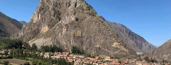 Ollantaytambo is one of Cusco y El Valle sagrado de los Incas.