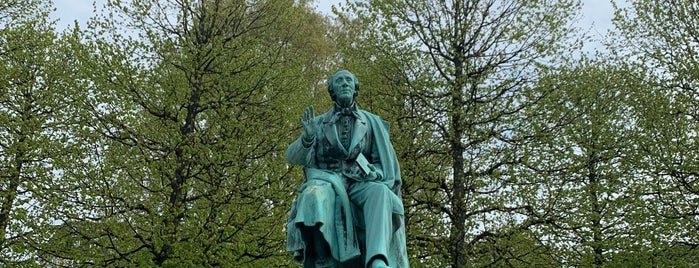 Hans Christian Andersen is one of Around The World: Europe 4.