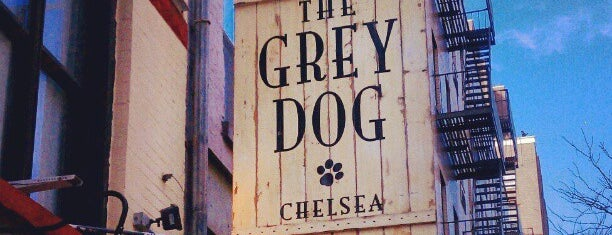 The Grey Dog - Chelsea is one of Favorites Coffee Shops in NY.