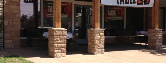 Table 24 is one of Outside-of-Austin Traveler.