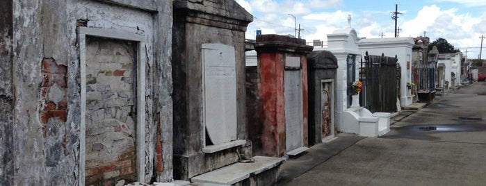 St Louis Cemetery No. 2 is one of NOLA.