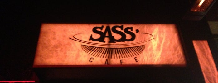 Sass Cafe is one of Lugares guardados de Raseel.