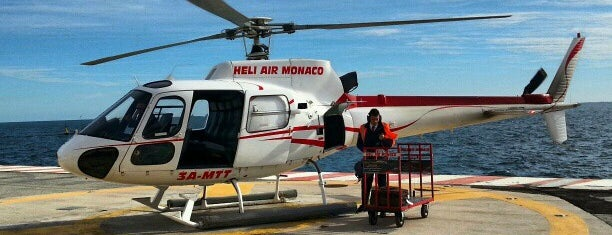 Heliport de Monaco is one of Locais curtidos por Carl.