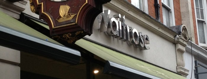 Waitrose & Partners is one of London best.