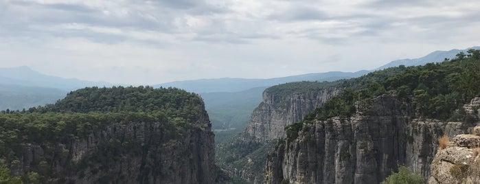 Tazı Kanyonu is one of Antalya.
