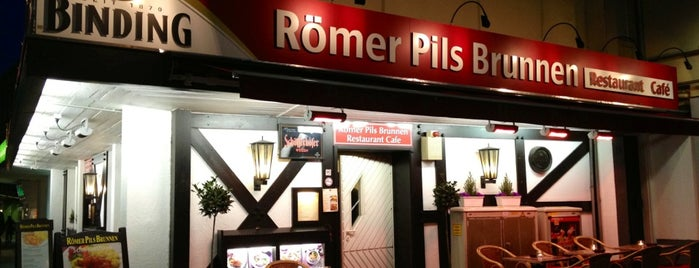 Römer Pils Brunnen is one of Frankfurt.
