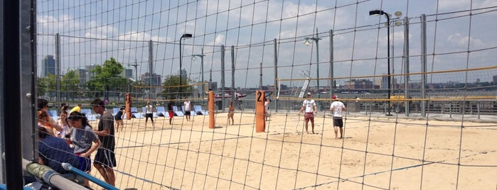 Pier 25 Beach Volleyball is one of Hidden Gems of Lower Manhattan.