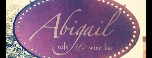 Abigail Cafe & Wine Bar is one of NYC Nights: Ales, beers, cocktails & night affairs.