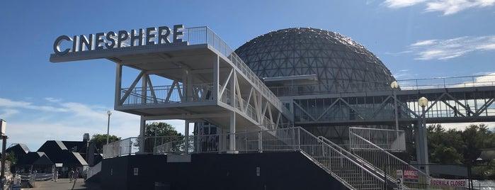 Ontario Place Cinesphere IMAX is one of Natalia : понравившиеся места.