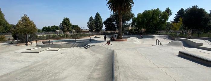 Moorpark Skate Park is one of LA spaces.