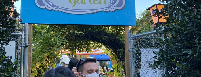 Wunder Garten is one of D.C. Bars.
