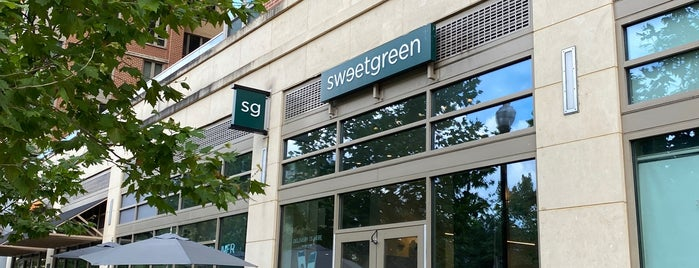 sweetgreen is one of Healthy eats VA.