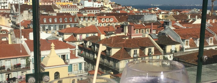 Bar Entretanto is one of Lisbon top terraces & rooftops.